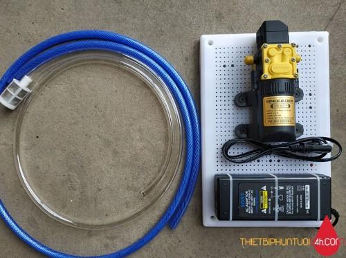 Trọn bộ máy bơm mini vệ sinh  thay nước hồ cá, bể cá